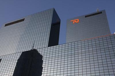 NN gebouw, door Peter Visser